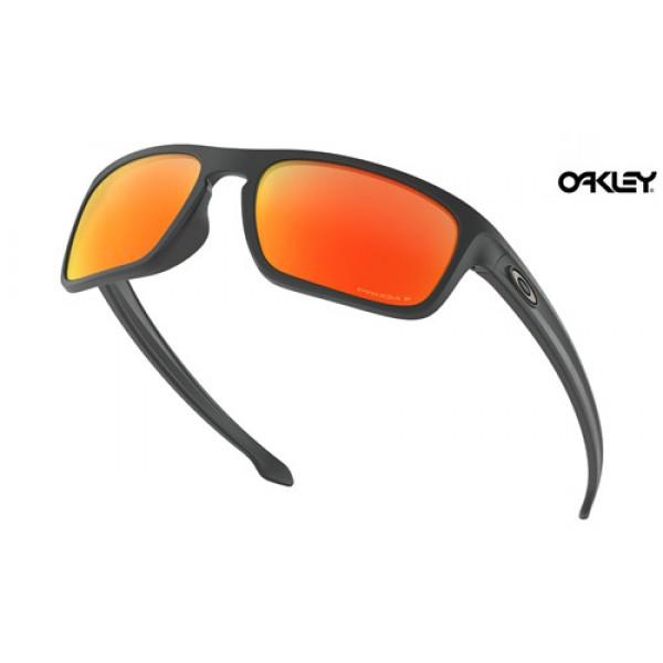 Fake Oakley Sliver Stealth sunglasses Matte Black frame and